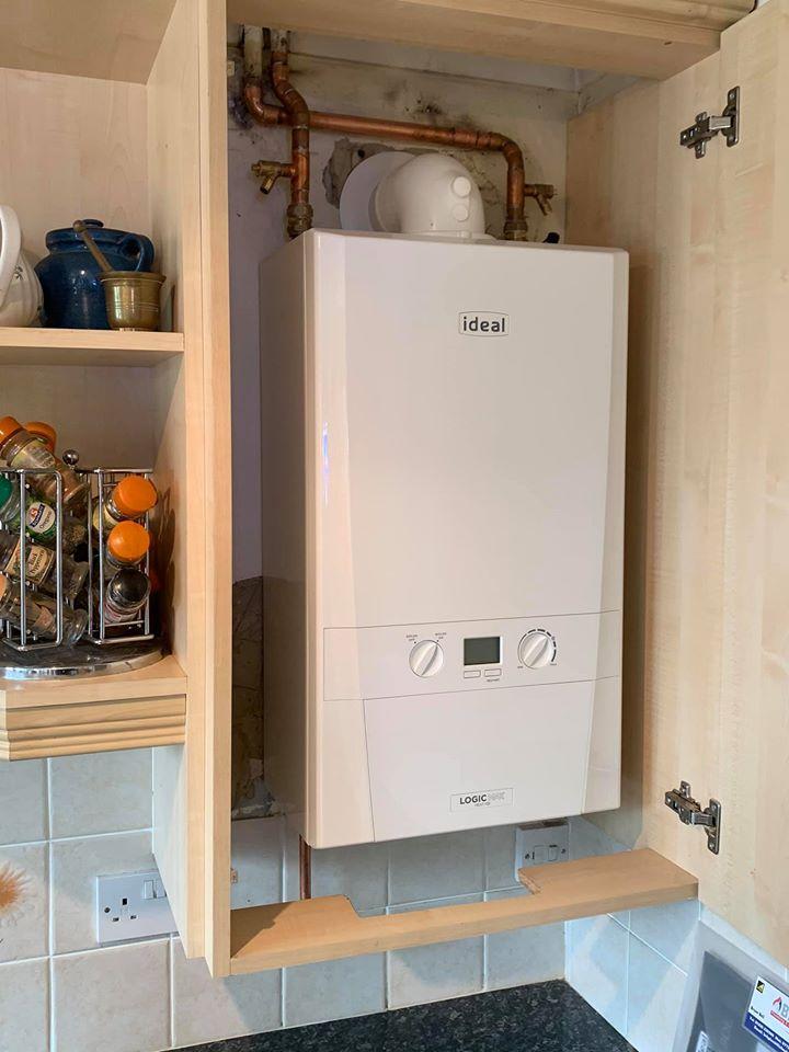 New boilers Stubbington